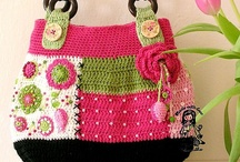 Crochet - Bags/Purses/Baskets / by Dirk Gibson