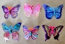 Crochet - Butterflies and Birds / by Dirk Gibson