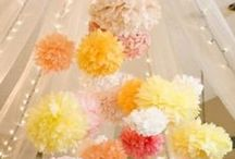 Wedding Decor & Accessories / Centrepieces, lighting & decorations for Weddings & special events  / by Candace Fulford
