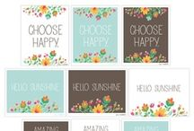 Free Printables / by Storefront Deals