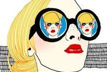 Art Gallery / A arte e o nosso mais amado item do guarda-roupa: o óculos!