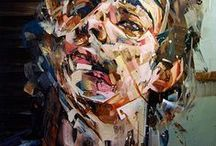 Portrait Art / Wonderful innovative artists who give portraits a new meaning / by Jane Sanger