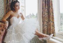 Wedding dresses / Romantic & Fun wedding dresses / by Candace Fulford