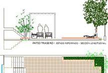 proyecto A186 / reforma de patios de parcela