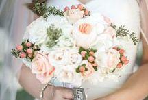 Hochzeit: Altrosa & Pfirsich / Hochzeitsinspirationen in peach, altrosa und jeder Menge Liebe zum Detail.