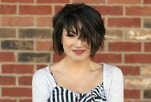 Short hair styles / Hair styles for people with short hair.