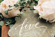 | Wedding Flowers | / Let love florish with these botianical inspired weddings!