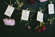 | Escort Cards and Escort Tables | / Looking for escort cards and decor inspiration? Here's some of our favorite wedding table seating charts and details