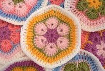 Crochet - African Flowers / by Dirk Gibson
