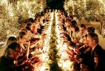 | Beautiful Reception Ideas | / Light up the night on your wedding day with these reception ideas