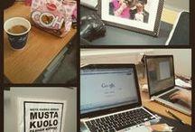 """Konttori / Konttorin omia postauksia, kuvia ja konttorin blogi.  """"Day at the office"""""""
