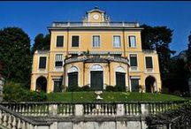 Villa Margherita Ricordi / Villa Margherita, built in 1853 on commission publisher Giulio Ricordi , apparently with the proceeds of Trovatore by Giuseppe Verdi.      Villa Margherita, costruita nel 1853 su commissione dell'editore Giulio Ricordi, pare con i proventi del Trovatore di Giuseppe Verdi. @GRIANTE