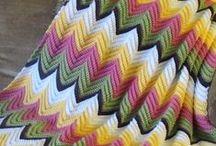 Crochet - Ripple Blankets / by Dirk Gibson