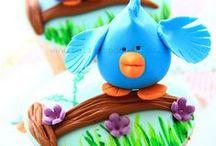 Cupcakes / Decoración y modelado de cupcakes