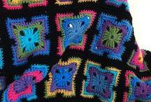 Crochet - Kaleidoscope Blankets / by Dirk Gibson