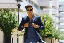 Street style . / Men's Style board inspirational looks and ideas. sharp, smart, casual.  / by Zak Taylor