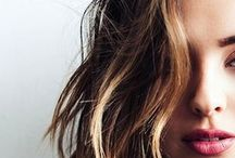 hair. / hairstyle.