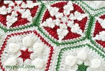 Crochet - Christmas Blankets / by Dirk Gibson