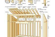 garden buildings / fahaz fatarolo terasz kerti fa dolgok