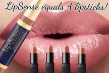 LipSense Color & Gloss / LipSense is the premier product of SeneGence and is unlike any conventional lipstick, stain or color.  As the original long-lasting lip color, it is water proof, does not kiss off, smear off, rub off, or budge off.  Create your own color palette by combining from over 50 shades.