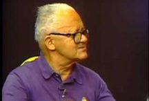 Paul Rand / Paul Rand (15 agosto 1914 hasta 26 noviembre 1996) fue un director de arte y diseñador gráfico americano , mejor conocido por sus diseño de logos corporativos, incluyendo los logotipos de IBM , UPS , Enron , Morningstar, Inc. , Westinghouse , ABC , y NeXT . Fue uno de los primeros artistas comerciales estadounidenses en adoptar y practicar el estilo suizo del diseño gráfico.  Fue profesor de diseño gráfico en la Universidad de Yale. Incluído en 1972 New York Art Directors Club Salón de la Fama.