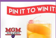 Pin 2 Win $100 to MGM Wine & Spirits! / Pin Your Favorite Cocktail Recipe, Win $100!  Cocktails come in many different shapes, flavors, and sizes and your friends at MGM Wine & Spirits want to know which ones are YOUR favorite on Pinterest! Click the link below to complete the form and be entered to win a $100 gift card to MGM Wine & Spirits!   http://woobox.com/vz9ydy