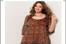 Blouse manches longues femme ronde / Des blouses pour toutes les femmes rondes et pour tous les styles longues et bouffantes, longues et évasées, des articles tendances adaptés aux formes pulpeuses.