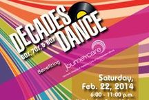 Decades Dance 2015 / Dress in your 60's, 70's and 80's attire and join JourneyCare Foundation dancing the night away to help  JourneyCare keep its promise to the community  of never turning anyone away due to inability to pay.