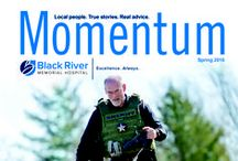 Momentum / Momentum Magazine, Black River Memorial Hospital, Community Spotlight, Employee Spotlight