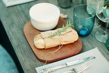 Dinners, Drinks and Dining / Inspiration for dinner parties, picnics, table settings and general foodie love