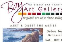 Bay Art Gallery Fall Reception 2014 / This reception was held in honor of our newest Plein Air artist Debra Joy Groesser.