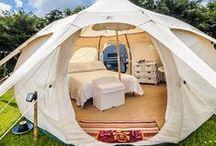 Unique tents / Special tents at special places