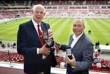 Connected stadium / Connectiviteit toegepast in een vol voetbalstadion. Lees meer over Connected stadium op mijn blog. www.wout247.nl