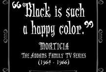 Morticia Addams Style