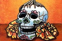 Day of the Dead Art / Artwork created based on the Day of the Dead holiday.