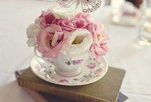 High tea and cakes