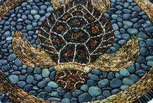 Mosaic - pebble
