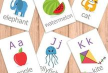 Alphabet Printables / Alphabet printables are great! Here are some we found. See eagerEd.com for others.
