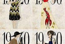 HISTOIRE DE LA MODE / Revivez l'histoire de la mode à travers notre sélection d'images !