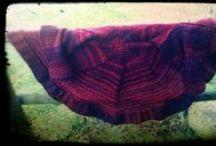 Jesienny garaż - moje prace / my works / Druty i szydełko. Knit & crochet.