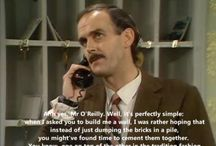 Fawlty Towers / I loved the humour and the characters were brilliant at acting!!!