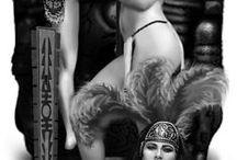 Chicano Arts Crystal Ray / Women, skulls, Aztec / by artb
