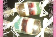 jabones artesanales GLICERINA / jabones de glicerina elaborados en El Búho de Cloe