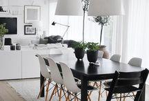 Omakoti ja sisustus <3 / Punainen tupa ja perunamaa! Ihania ideoita oman kodin sisustukseen.