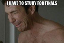 I have finals tomorrow!