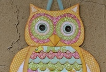hoo says? / anything owls that give vivian ideas for andy, plus i like them too! / by Donna Ellis