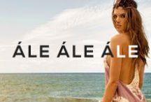 Ále by Alessandra / Desgined by supermodel Alessandra Ambrosio, Ále by Alessandra is Brazil bohomian meets Malibu chic • http://shopplanetblue.com/ale-by-alessandra-collection / by Planet Blue