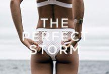 THE PERFECT STORM / take me to the sea • Blue Life Swim 2014 • http://shopplanetblue.com/the-perfect-storm-lookbook/