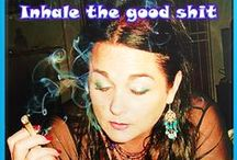 Captain Cannabis / Saving humanity one joint at a time. Blunt yes...thats just how I roll...