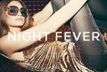 NIGHT FEVER / Model: Roosmarijn de Kok Photographer: Kimberley Gordon Makeup/Hair: Matisse Andrews / by Planet Blue